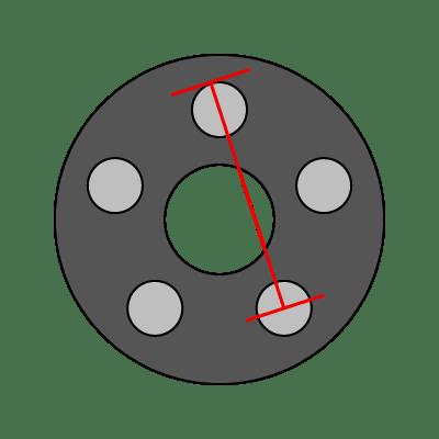5-Lug Bolt Pattern Guide   Wheel Adapter Guide