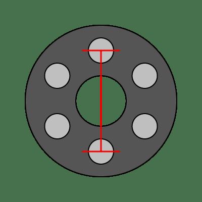 6-Lug Bolt Pattern Guide   Wheel Adapter Guide