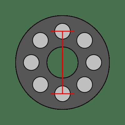 8-Lug Bolt Pattern Guide   Wheel Adapter Guide
