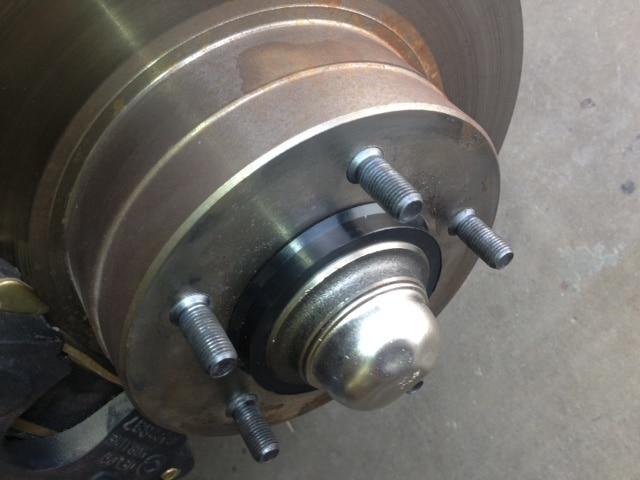 Hub Centric Rings on a wheel hub!