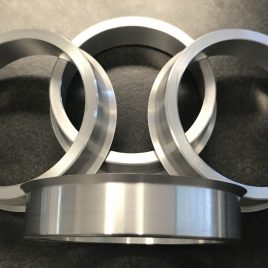Custom Aluminum<br>Hub Centric Rings <br>(Duallys) (Set of  4)